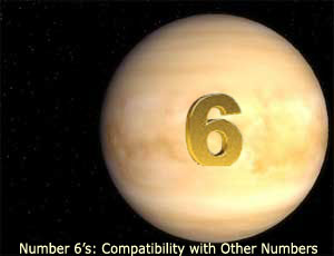 Number-6--Compatibilty-with-Other-Numbers