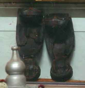 Sri Sai Baba's Paduka ( Foot wear )