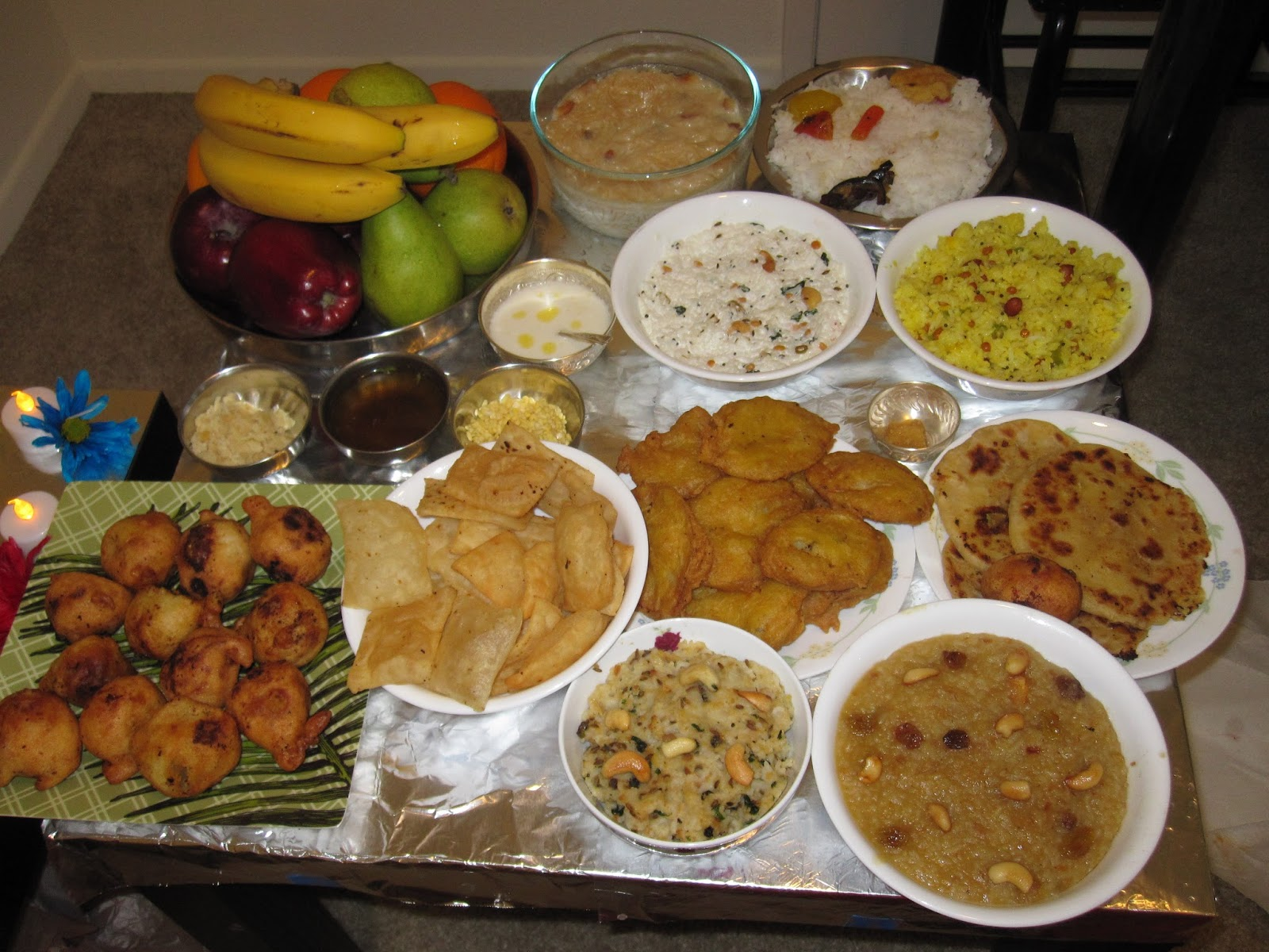 Varalksmi Food Offering
